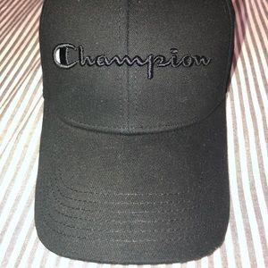 412d282586948 New black champion hat